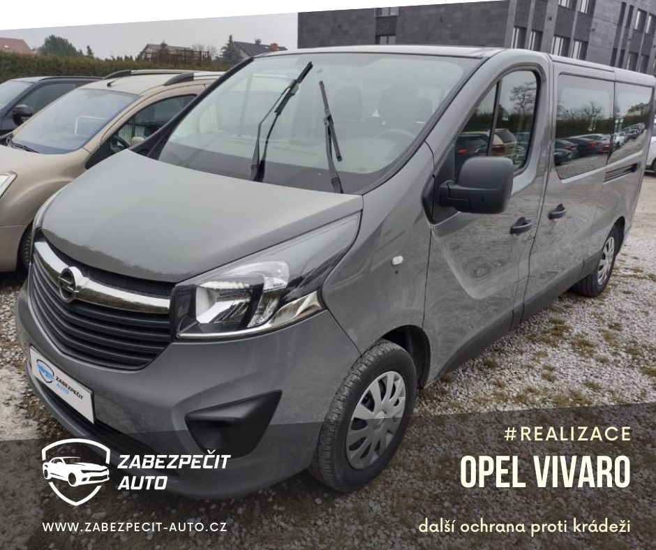 Opel Vivaro CanLock
